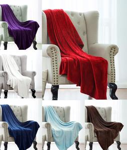 1pc SMALL THROW BLANKET ULTRA SOFT PORTABLE TRAVEL PERSONAL