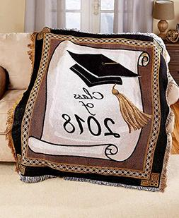 The Lakeside Collection 2018 Graduation Throw