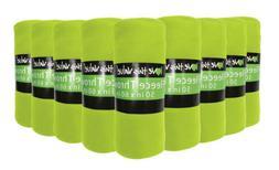 24 Pack Soft Warm Fleece Blanket or Throw Blanket - 50 x 60