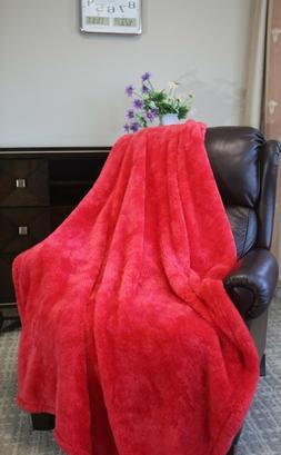 """Berkshire 280GSM Fluffie Light Weight Throw blanket 50""""x60"""""""