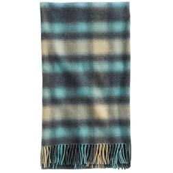 "Pendleton 5th Avenue Wool Throw Blanket 54"" x 72"" -Ocean O"