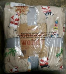 """Berkshire Blanket 60""""x80"""" Super Oversized Velvet Soft Holida"""