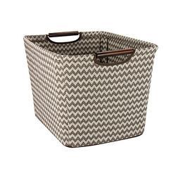 Household Essentials 661-1 Medium Tapered Fabric Storage Bin