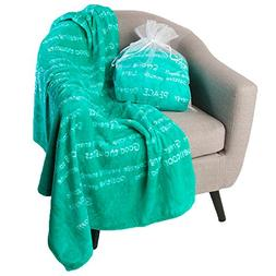 BlankieGram Healing Thoughts Blanket The Ultimate Healing Gi