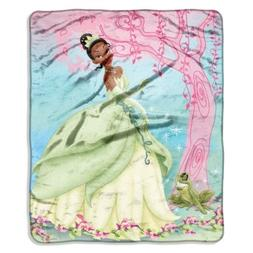 Disney, Princess and the Frog, Pink Vines 46-Inch-by-60-Inch