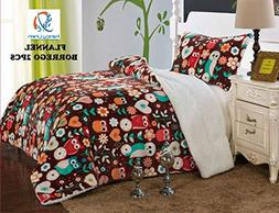 Fancy Collection 2pc Twin Size Blanket Sumptuously Soft Plus