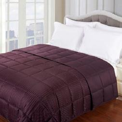 Full Queen Blanket Reversible Hypoallergenic Luxurious Down