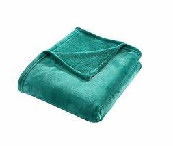 HYSEAS Velvet Plush Throw Home Fleece Throw Blanket 50 by 60