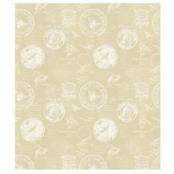 Honey Bee Studies Dye Throw Blanket Lightweight Neutral Tan