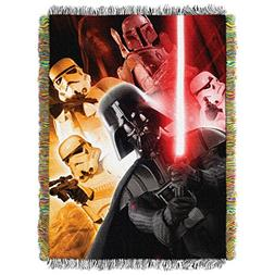 """Disney's Star Wars, """"The Empire"""" Woven Tapestry Throw Blanke"""