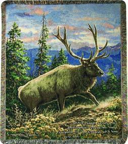 Manual Dona Gelsinger Siskiyou Bluff Elk Lodge Tapestry Thro
