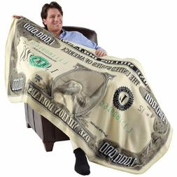 Milion Dolar Fleece Throw Blanket