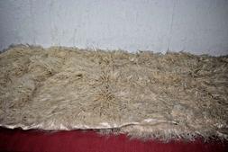 "Mongolian Faux Fur Throw Blanket - Project 62 Tan 60""x50"""