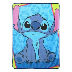 NEW Licensed Lilo & Stitch Movie Plush Fleece Throw Gift Bla