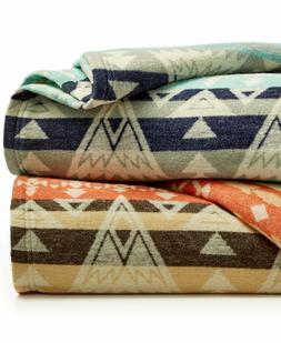 NEW Pendleton High Peaks Cotton Wool Jacquard KING Blanket B
