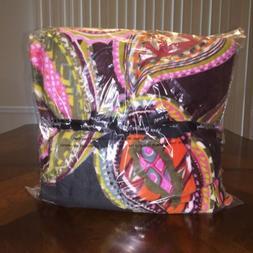 NWT Vera Bradley Throw Blanket Heirloom Paisley