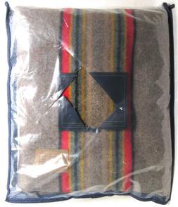 Pendleton Yakima Camp Wool Throw Blanket, Mineral Umber, One