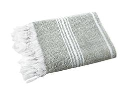 SALBAKOS Incredibly Soft, Turkish Peshtemal Fouta Towel, Eco