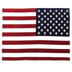 Oversized USA Flag Fleece Throw Blanket, 60 inch x 80 inch R