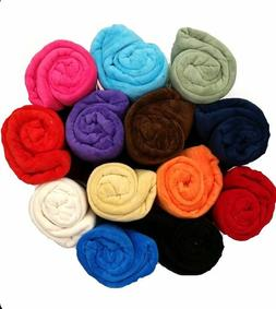 Super Soft Luxurious Plush Fleece Throw Blanket Light 14 Sol