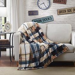 Tache Tartan Plaid Super Soft Warm Winter Cabin Throw Blanke