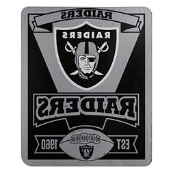 The Northwest Company NFL Oakland Raiders Marque Printed Fle