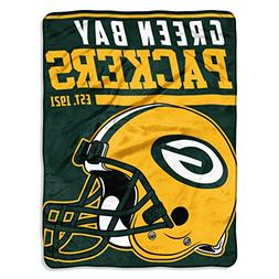The Northwest NFL Green Bay Packers Micro Raschel Throw Blan