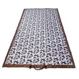 Wildkin Horse Dreams Picnic Blanket Water Resistant Brown Cr