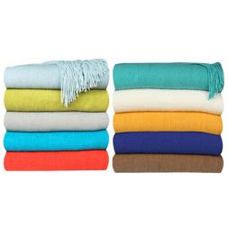 Woven Sofa Bed Settee Throw Cover Chair Bedspread Blanket Mu