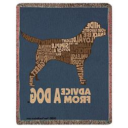 Manual Woodworker & Weavers Advice from a Dog Throw