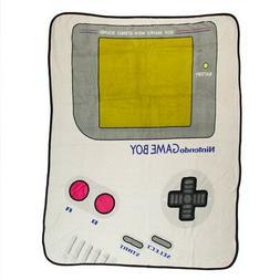 Authentic Nintendo Game Boy Fleece Throw Blanket NEW