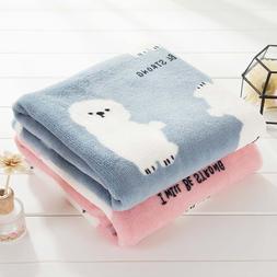 Baby Child <font><b>Blanket</b></font> Knitted <font><b>Blan