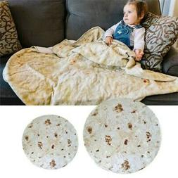 baby soft burrito blanket throw tortilla texture