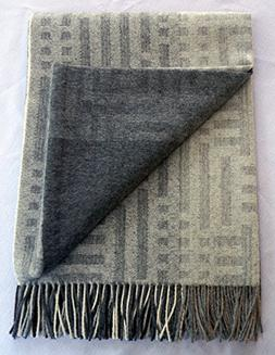 100% Baby Alpaca Throw Blanket, Our Beautiful Patchwork Patt