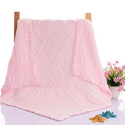 NUOMI Baby Toddler bed Blanket 100% Cotton 6 Layers Sleeping