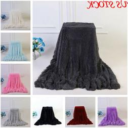 Bedsure Luxury Flannel Fleece Blanket Plush Blanket Throw Be