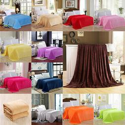 Bedsure Luxury Flannel Fleece Blanket Plush Blanket Throw Be
