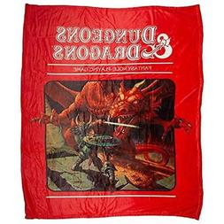 """Bioworld Throws Dungeons And Dragons Blanket Home """" Kitchen"""