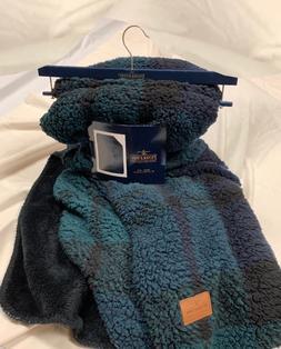 Blackwatch Plaid Fleece ThrowBlanket from Pendleton Home C