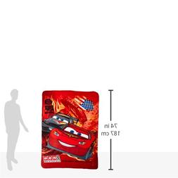 Blanket - Disney - Cars - McQUeen Red Fleece Throw Licensed