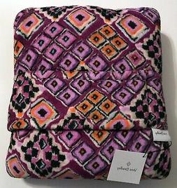 Vera Bradley Travel Blanket, Fleece, Dream Diamonds