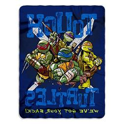 Blanket Teenage Mutant Ninja Turtles TMNT Throw Soft Fleece