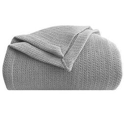 "Homvare Blanket/Throw Super Soft Cotton Geometric  King 90"""