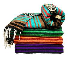 Spirit Quest Supplies Bodhi Blanket Mexican Style Throw Blan