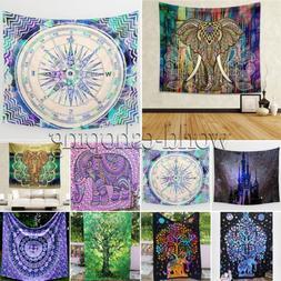 Boho Mandala Tapestry Hippie Wall Hanging Bohemian Bedspread