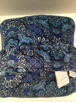 Vera Bradley Travel Fleece Blanket 60x45 Blue Tapestry