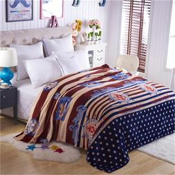 Brand <font><b>home</b></font> textile Marine style bed cove