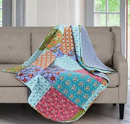 SLPR All is Bright Printed Quilted Throw Blanket  | Home Chi