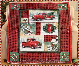 Buffalo Plaid Quilt Throw Blanket Christmas Vintage Pick Up