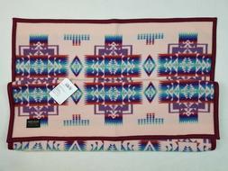 Pendleton Chief Joseph Muchacho Baby Blanket Pink 32x44 USA